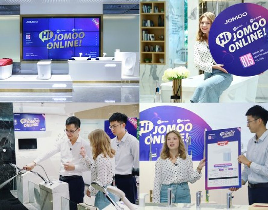 JOMOO 815 Bathroom Live Festival Was Successfully Completed with GMV of $148M
