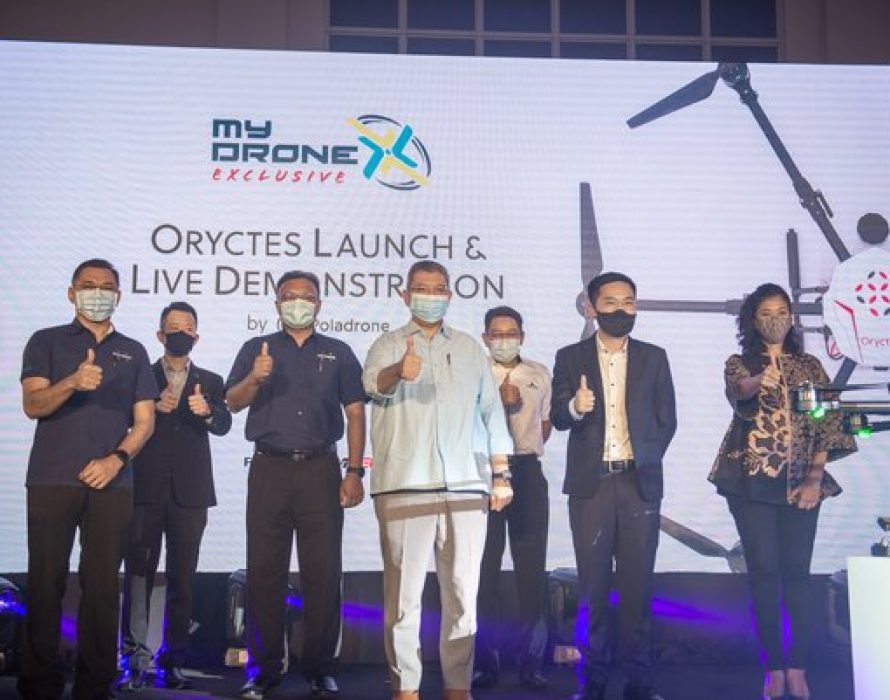 """Malaysian Drone Company Poladrone Launches """"Oryctes"""" – World's First Precision Drone For Oil Palm Plantations"""
