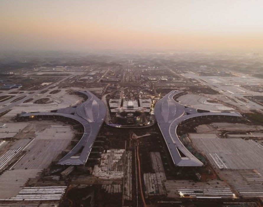 National Business Daily: New products and new scenes to be unveiled as Chengdu Tianfu International Airport takes initial shape