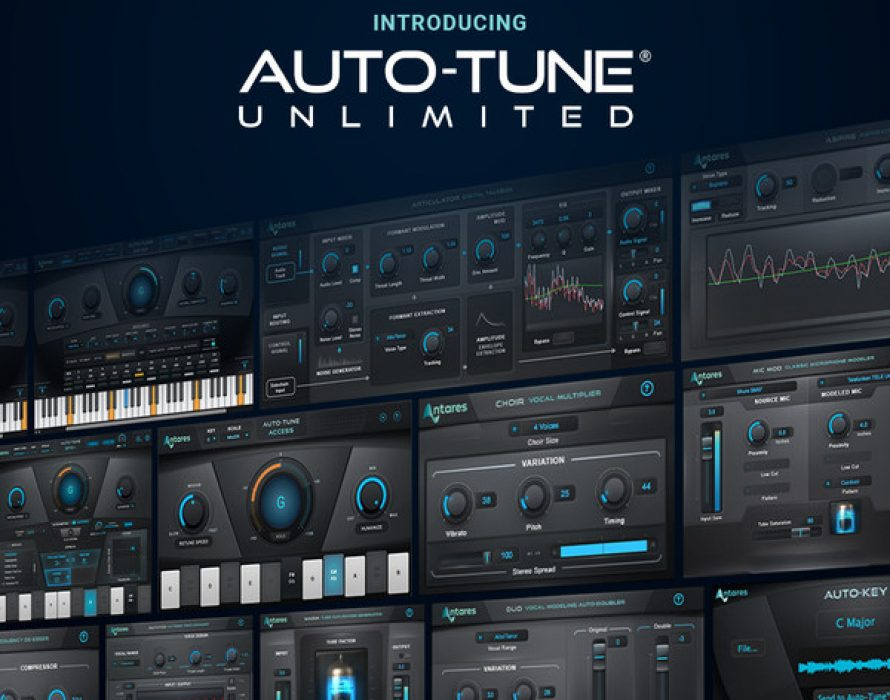 New Auto-Tune® Subscription Brings Professional Quality Vocal Production Tools to the Masses