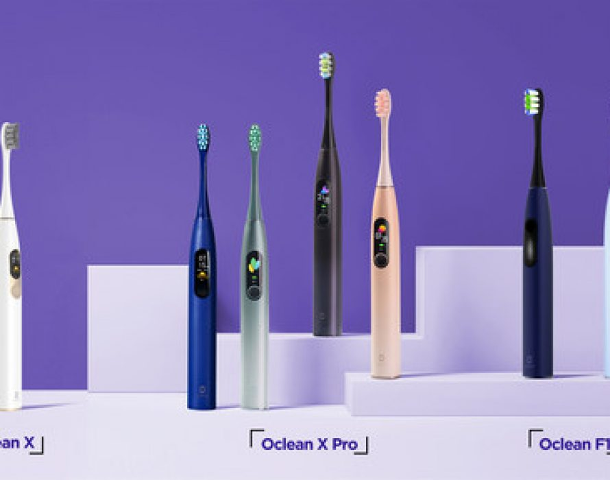 Oclean Launches New Electric Toothbrushes on Amazon