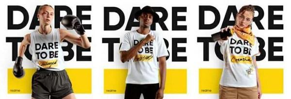 Social media campaign for realme's second anniversary celebrations: Dare to be ____!