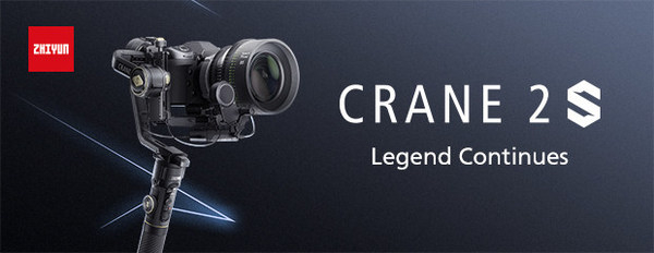 Zhiyun launch CRANE 2S camera gimbal, which inherits classic design with overall improved performance