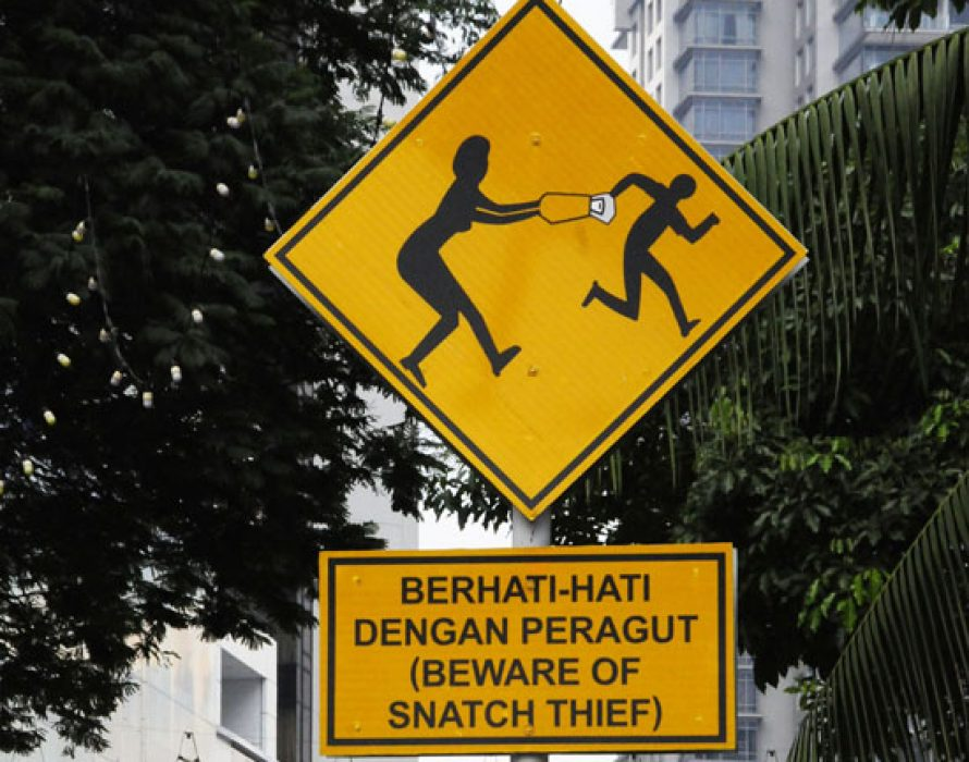 Three men held for suspected robbery, snatch theft