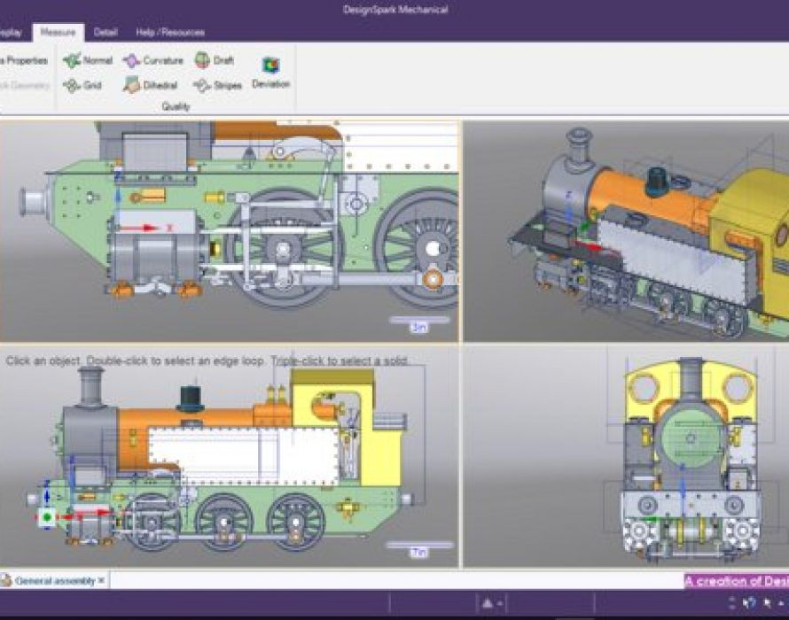 RS Components' DesignSpark Mechanical 3D CAD modelling software receives latest upgrade