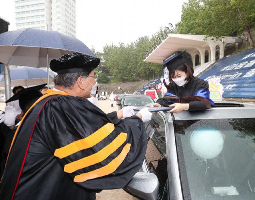 S. Korea's KT Showcases Country's First Drive-In Graduation