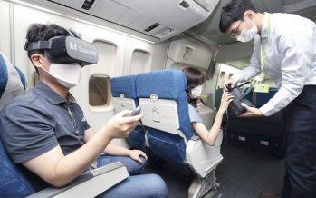 S. Korea's KT to Develop In-Flight VR Service