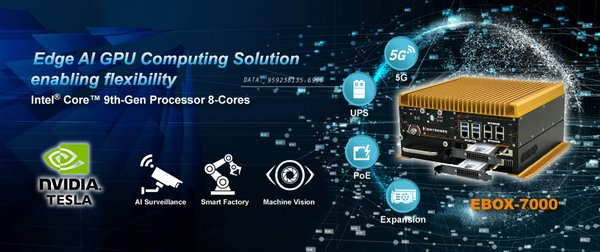 SINTRONES Edge AI GPU Computing Solution enabling flexibility:EBOX-7000