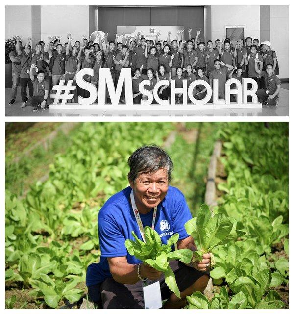 SM Foundation Inc. (SMFI) led flagship programs - the Scholarship Program and the Kabalikat sa Kabuhayan (KSK) Farmers' Training Program