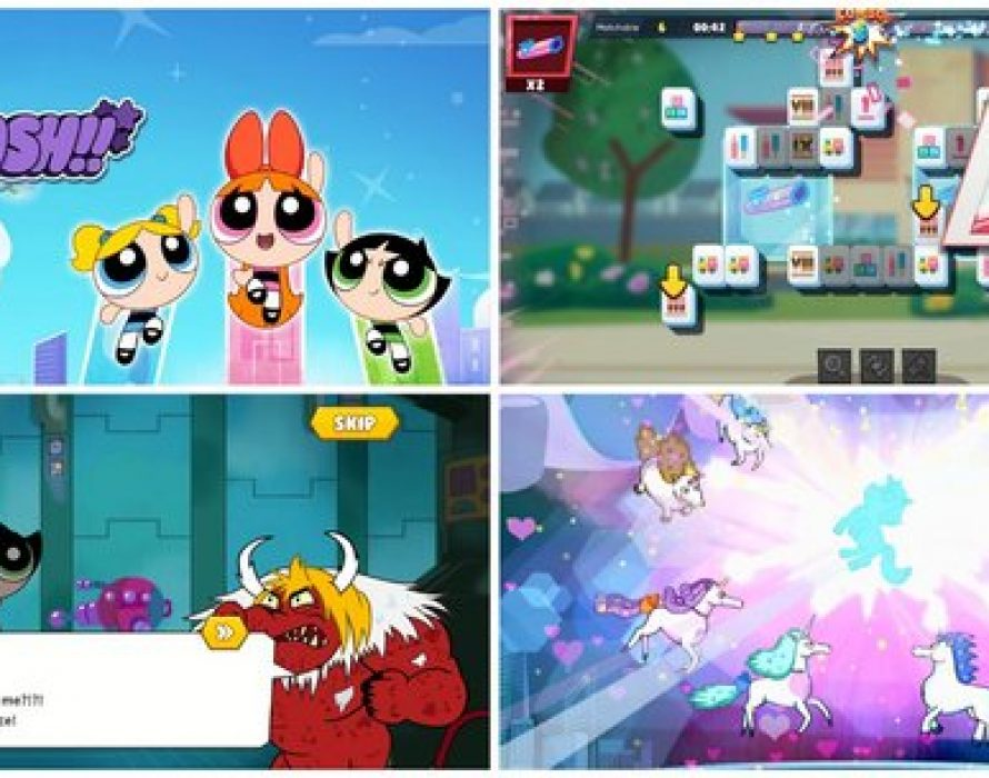 The Powerpuff Girls Smash' Game Launches in Asia