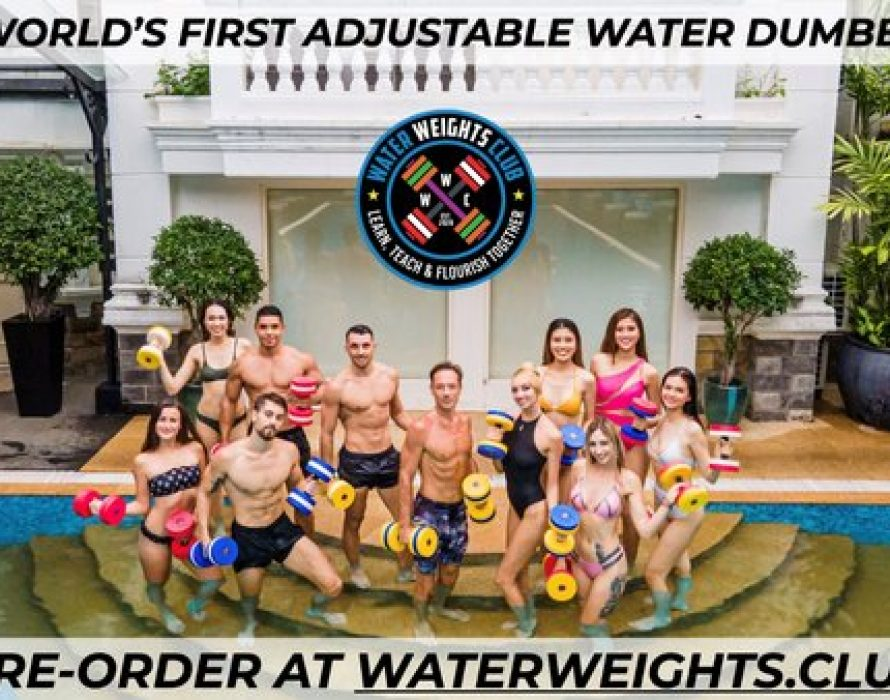 Water Weights Club Introduces World's First Adjustable Water Dumbbells with Transformational Exercise Routine