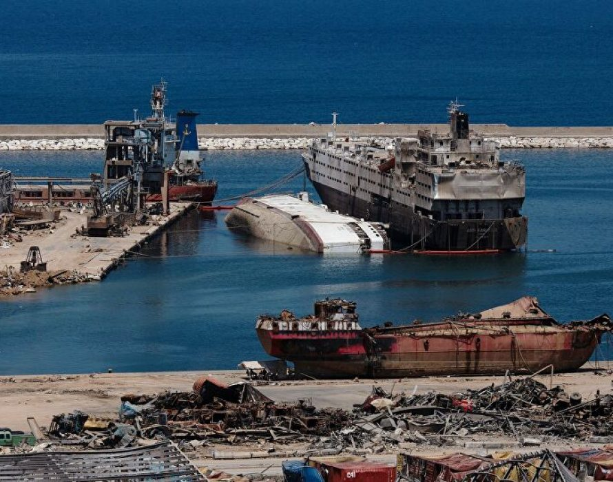 Lebanese army: Nearly 80 containers with dangerous chemicals found in Beirut port