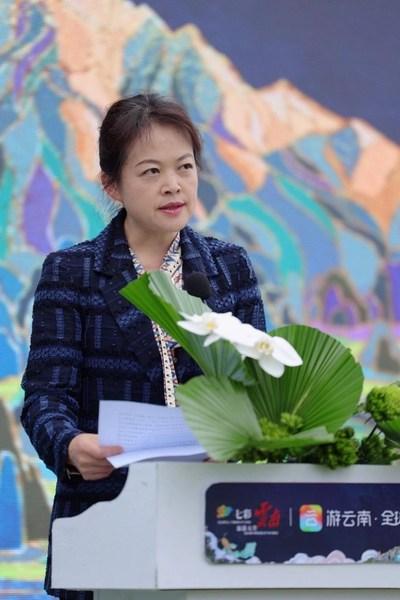 Wang Jianghong, deputy head of Yunnan Provincial Department of Culture and Tourism
