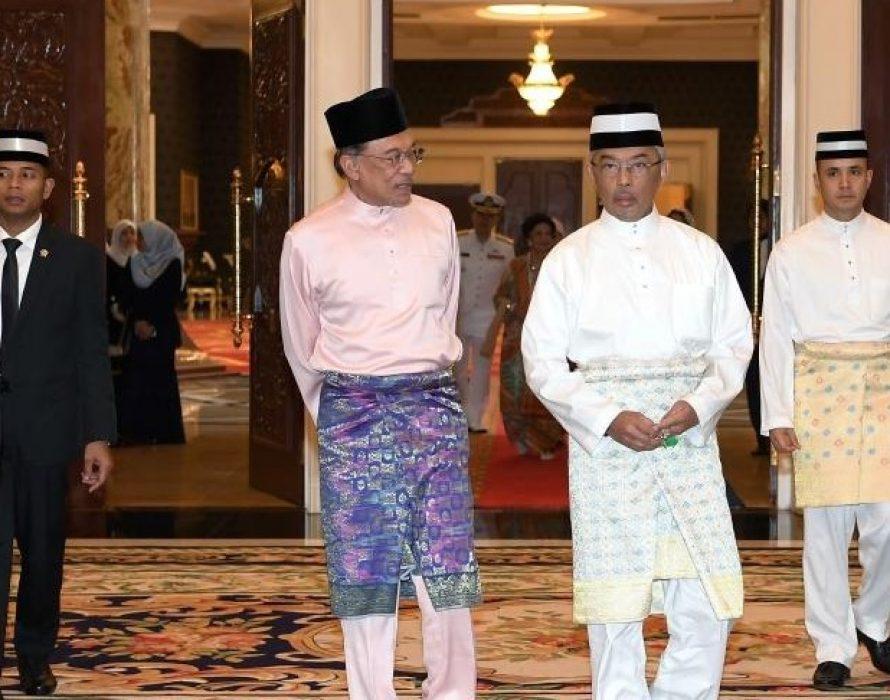 Istana Negara: Anwar's audience postponed, King wants priority given to people's wellbeing