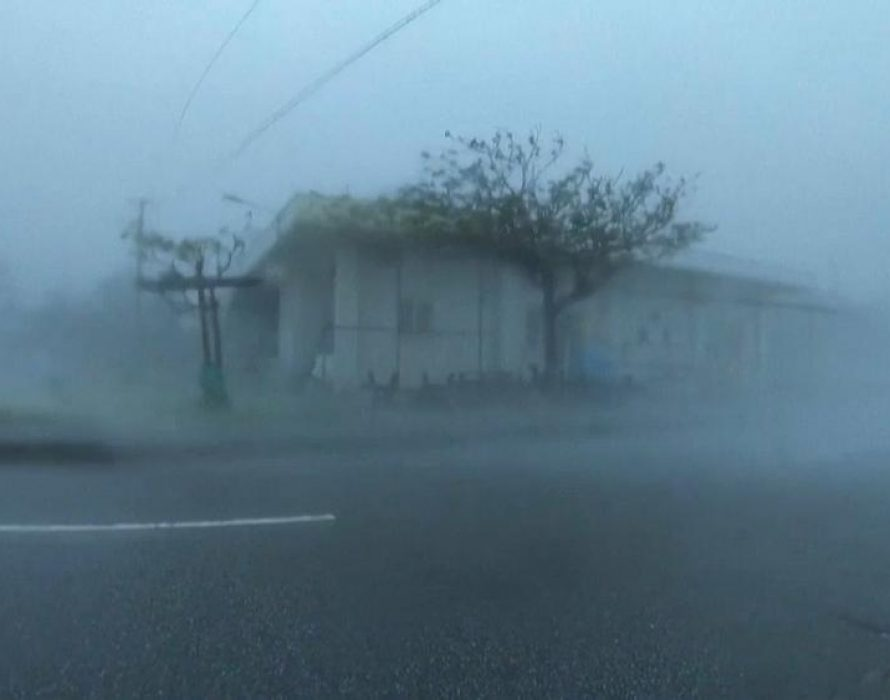 Typhoon Maysak rips through S. Korea, killing 1
