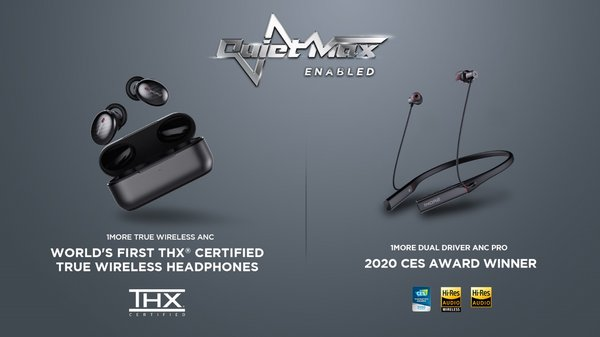 1MORE QuietMax Enabled Headphones