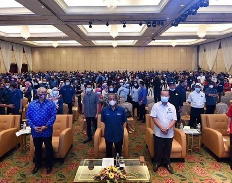 Sabah CM: Muhyiddin thanks GRS partners