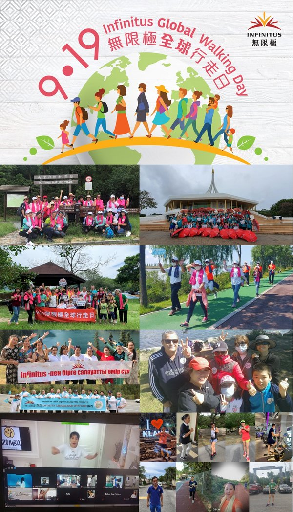 9•19 Infinitus Global Walking Day