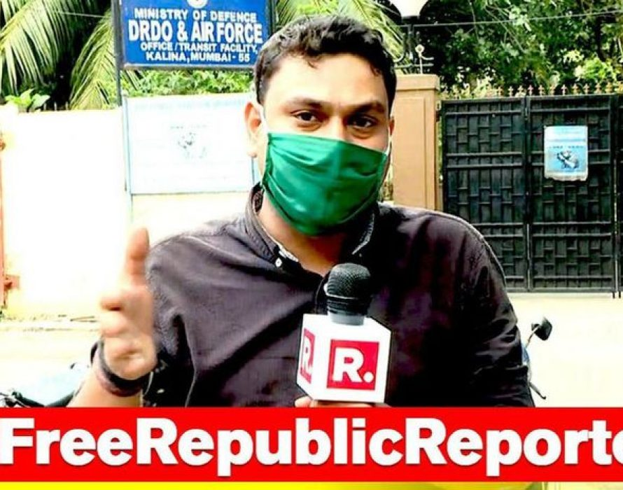 Republic TV's statement over their reporters being arrested by Maharashtra police