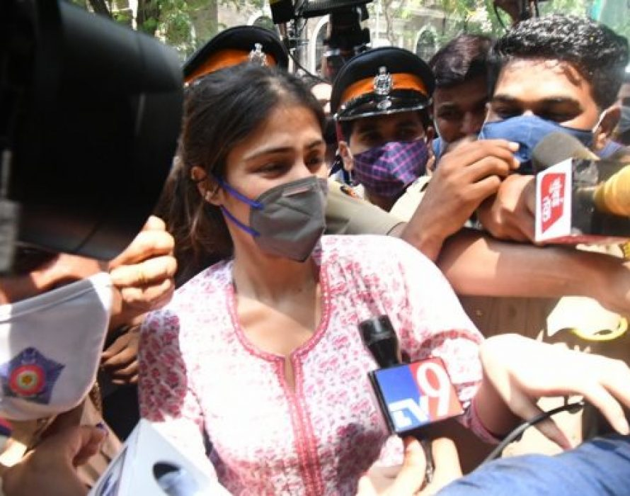 Bollywood actress Rhea arrested by India's narcotics agency