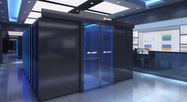 Huawei FusionModule2000 Smart Modular Data Center.