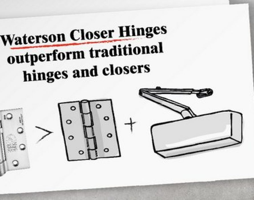Affordable Self-closing Door Hinges Add Up to Savings.