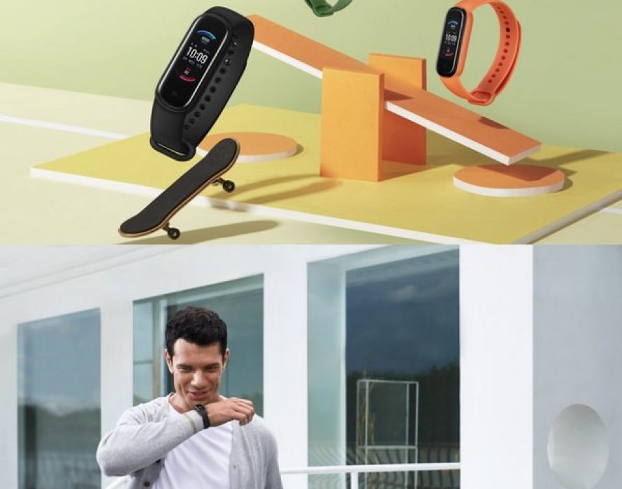 Amazfit Band 5 Launched with Blood Oxygen Saturation, 15-day Battery Life[1] at 44.9USD[2] on Sept. 21st, and Amazon Alexa Built-in[3] Coming Soon