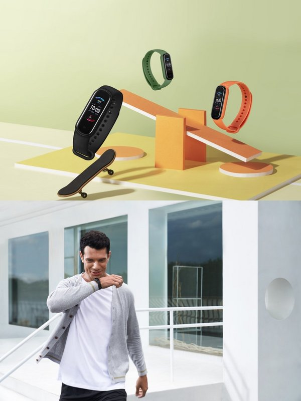 Amazfit Band 5 Launched with Blood Oxygen Saturation, 15-day Battery Life at 44.9USD on Sept. 21st, and Amazon Alexa Built-in