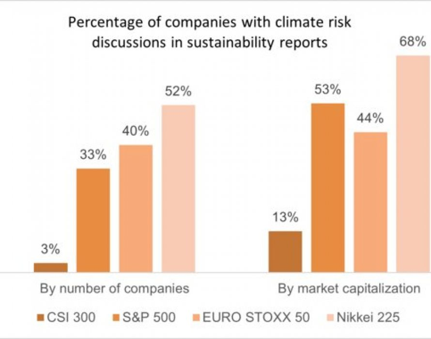 Big Gaps Found in Climate Risk Disclosures in China