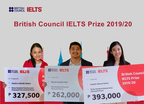 The three local prize winners in the Philippines are Jessica Isabelle Badua, Ithran Issachar Kho and Justine Alyssa Guino.