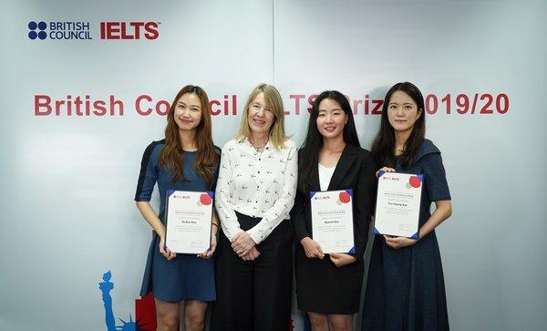 2019/20 IELTS Prize winners in Korea