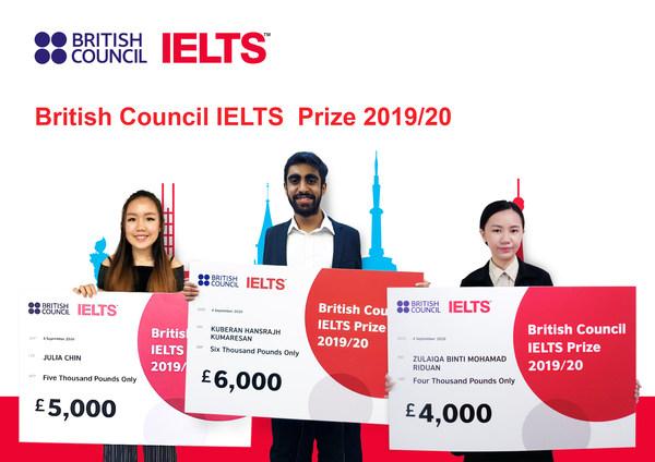 2019/20 IELTS Prize winners in Malaysia