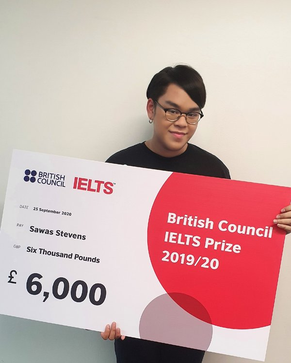 Congratulations to our IELTS Prize winner of 2019/20