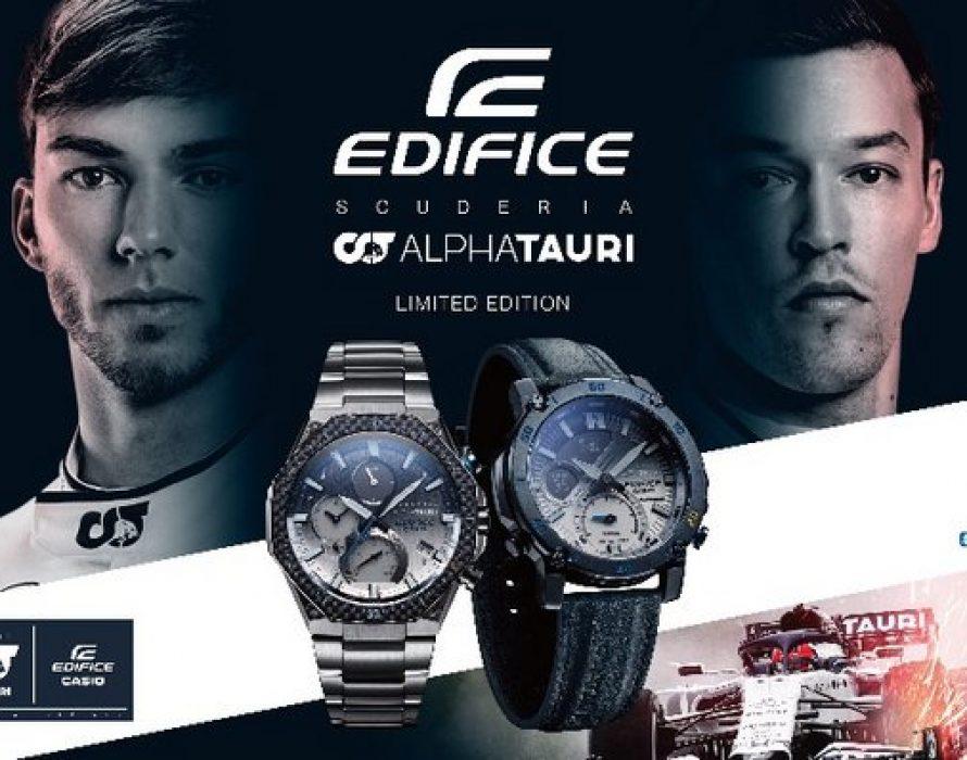 Casio to Release EDIFICE Collaboration Models with Scuderia AlphaTauri