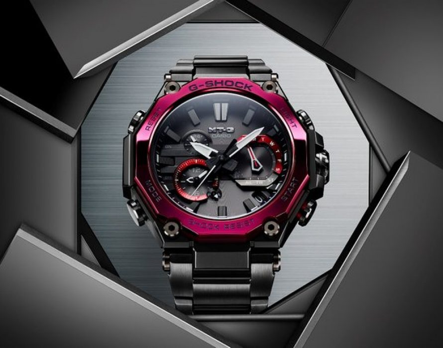 Casio to Release MT-G Series Watches with Newly Developed Dual Core Guard Structure