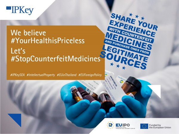 IP Key South-East Asia calls for stories on consuming counterfeit medicines in #YourHealthisPriceless campaign to scale down the price of the cure.