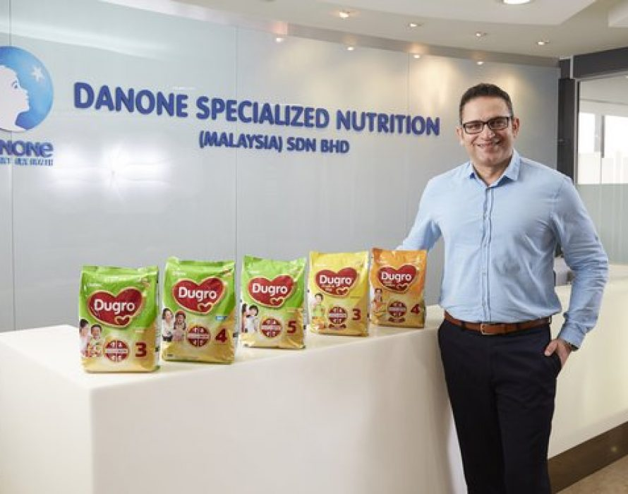 Danone Launches Improved Dumex Durgo Growing up Milk Formula in Malaysia and aims to raise awareness of Iron Deficiency Anaemia in Children