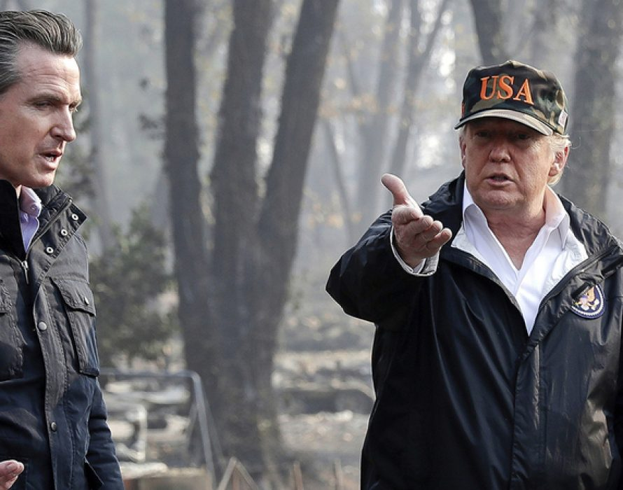Trump visits California, Biden talks climate change as wildfires take campaign focus