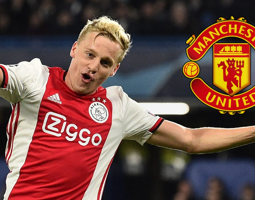 Man United sign Van De Beek from Ajax