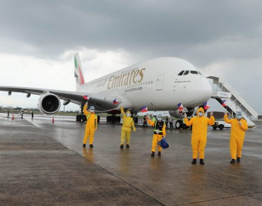 Emirates optimistic on network recovery by summer 2021; operates one-off A380 flight to PH's Clark airport