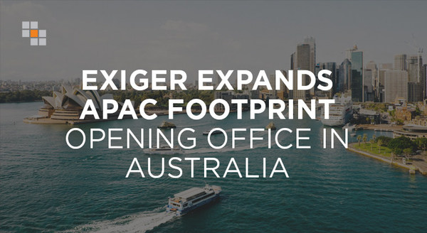 Exiger, the GRC firm transforming the global fight against financial crime and fraud, has opened its eleventh office in Sydney, Australia to address growing demand for its technology-enabled solutions purpose-built to manage complex regulatory and risk issues at scale.