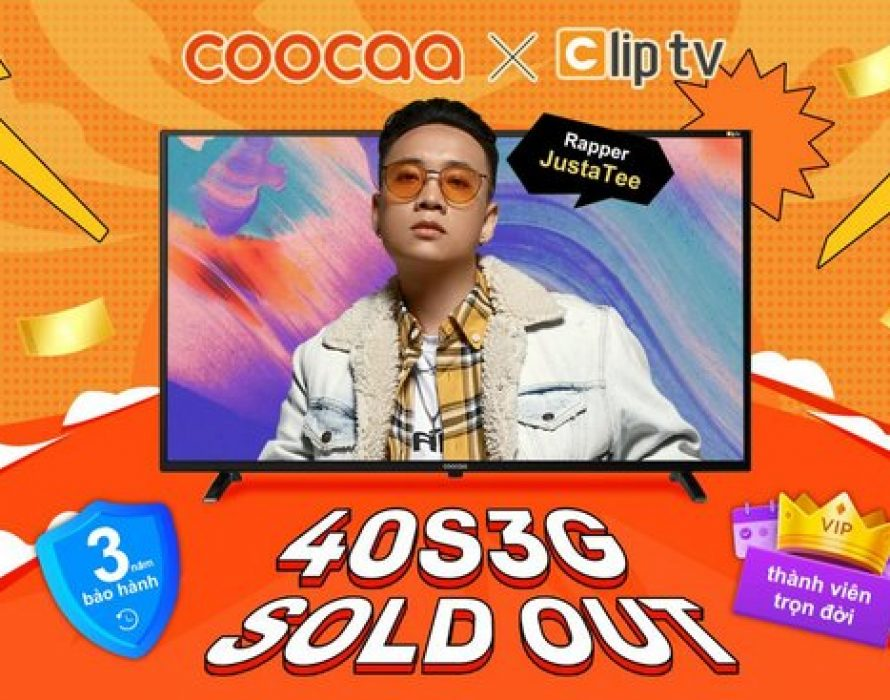 First 2,000 coocaa x Clip TV Smart TVs Sold in Under One Day at the Start of Lazada's 9.9 Mega Sale
