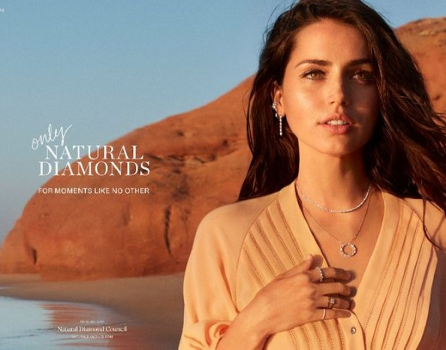 For Moments Like No Other: Ana de Armas Stars in The Natural Diamond Council's First Ever Celebrity Campaign, to highlight the versatile beauty of natural diamonds