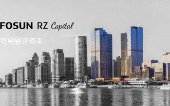 "Fosun RZ Capital Identifies IoT as the Major Key to an ""Intelligent World"""
