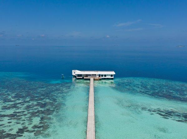 The Muraka – the world's first undersea residence at Conrad Maldives Rangali Island