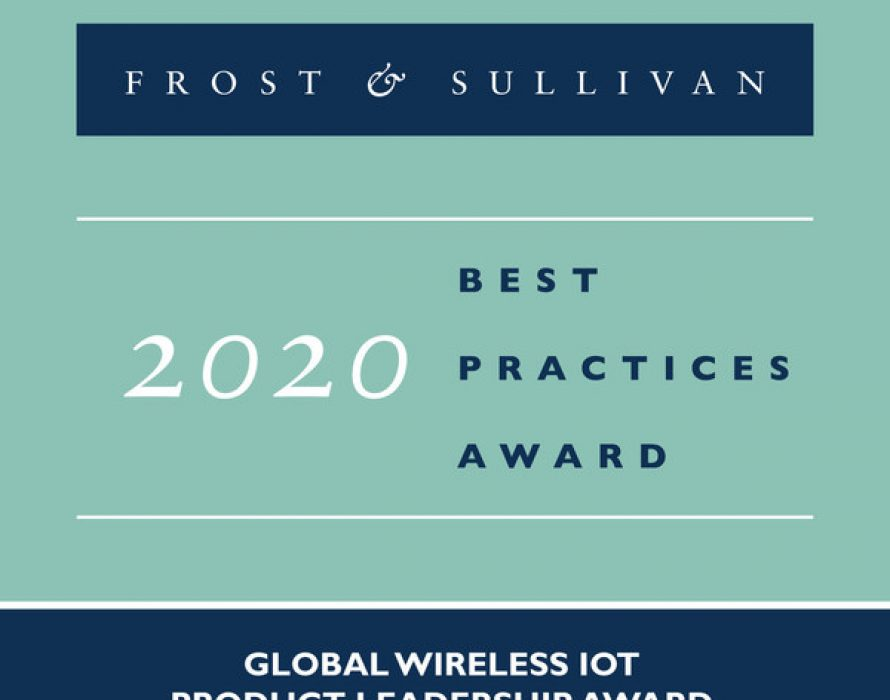 Frost & Sullivan Honors BehrTech with Product Leadership Award for Its MYTHINGS Wireless IoT Connectivity Platform