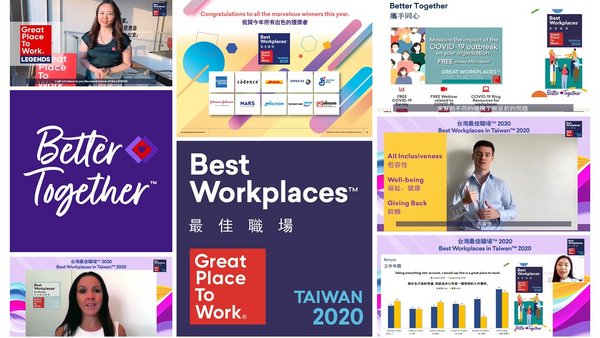 Best Workplaces in Taiwan 2020