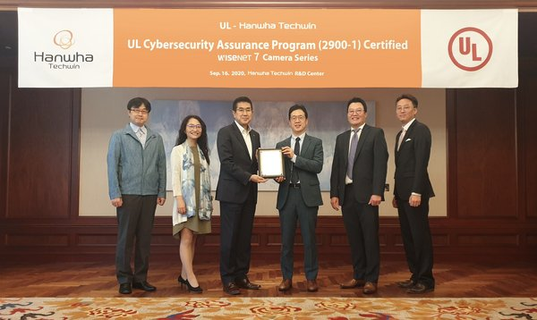 Global security company Hanwha Techwin announced on September 9 that it acquired the UL CAP (Cybersecurity Assurance Program) certification, an international cybersecurity standard, for its newly launched network video surveillance cameras equipped with Wisenet7 SoC (System on Chip)