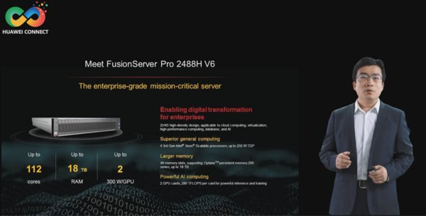 FusionServer Pro 2488H V6 Launch