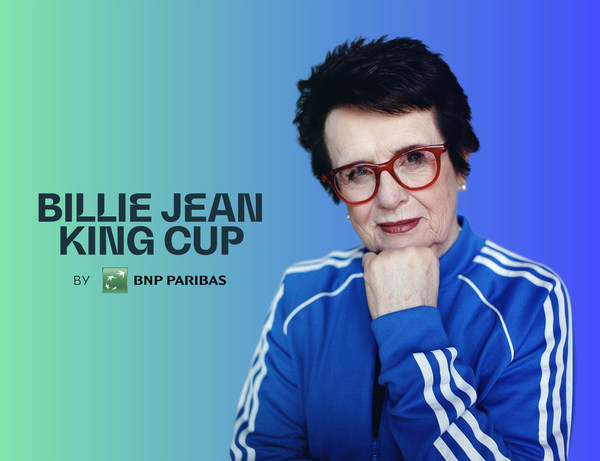The ITF has today announced that Fed Cup, the women's world cup of tennis, has been renamed the Billie Jean King Cup by BNP Paribas.